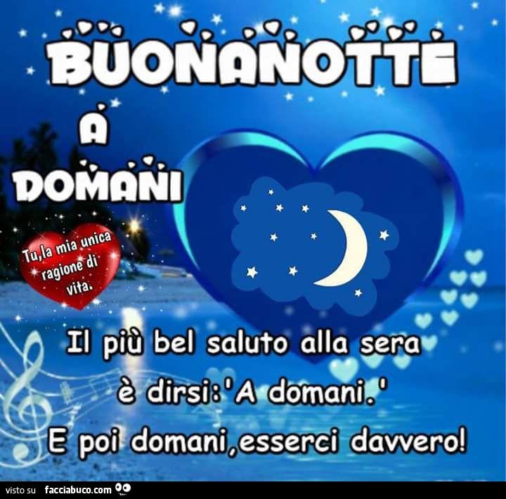 Buonanotte A Domani Facciabucocom